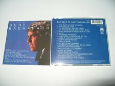 Burt Bacharach The Best of Burt Bacharach cd 1999 - 20 Tracks cd + Inlays are Ex