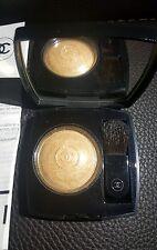 Last 1 CHANEL Limited Highlighter Brush Set Eldorado Gold Powder Blush Compact
