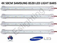 4X 50CM 12V 8520 LED STRIP LIGHT BAR CARAVAN 4WD CAMPING BOAT TENT UTE TOOL BOX