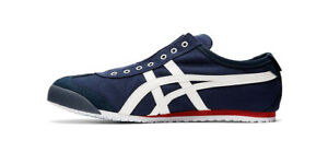 Onitsuka Tiger MEXICO 66 Slip-On Men's Sneakers Casual Shoes Navy D3K0N-5099
