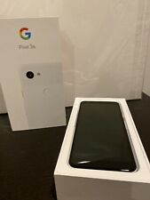 Google Pixel 3a - 64GB - Clearly White (Unlocked) - Never Used