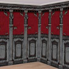 Gothique Mansion Pièce Scène Setter Salle Rouleau - Halloween Fête Backdrop Déco