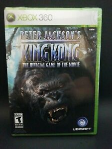 Peter jackson's king kong xbox 360 Sealed New