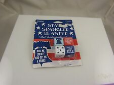 star spangled blasted dice partys game Joke gag drinking game 4th of july die
