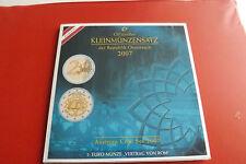 * Österreich Euro KMS 2007 / Blister * 1 Cent bis 2 Euro Gedenkmünze