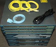 Cisco CCNA CCNP CCIE Lab with 3xCISCO2821 WS-C3548-XL-EN 180DaysWty