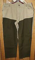 VTG L.L.Bean Men's Work Hunting Pants Reinforced Knee Cotton Canvas 43x33 U.S.A.