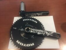 ROTOR 3D AERO 52/36 110BCD crankset, 172.5mm crank arms, BBright or BB30, NEW
