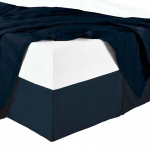 100% Cotton Split Corner Bed Skirt with 300tc