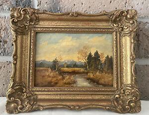 Maurice Braun Original Signed Oil Painting Framed