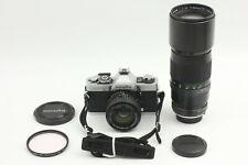 **Near Mint** Minolta XG-S SLR Film Camera w/ MC Rokkor 50mm f/1.4 & 300mm f4.5