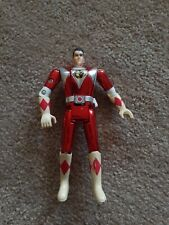 Mighty Morphin Power Rangers Special Edition Auto Metallic Head Flip Red RARE 93