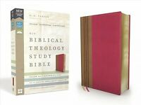 NIV Biblical Theology Study Bible : New International Version, Cranberry / Ta...