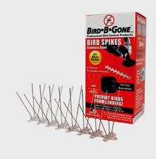 Bird-B-Gone Bird Repelling Stainless Steel Spikes For Larger Birds MM2001-5/6