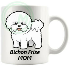 Bichon Frise Dad Mug Gifts For Him Her Friends Colleagues
