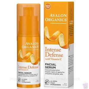 Avalon Organics Intense Defense Vitamin C Vitality Facial Serum 30ml