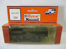 Roco Minitanks 294 MAN N 4520  WS162