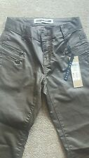 NOISY MAY XXS LADIES BRONZE/BROWN SKINNY JEANS NEW WITH TAGS