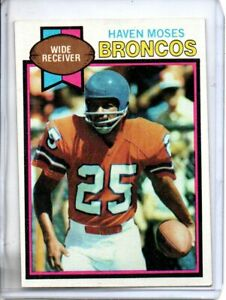 1979 TOPPS HAVEN MOSES (EXMT) @@