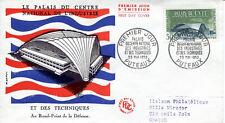 FRANCE FDC - 300 1206 2 PALAIS DU C.N.I.T. 23 5 1959