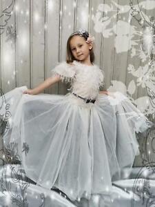 Monnalisa Kleid Luna Organza Größe 146/11 Jahre  NEU 330,00 €