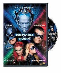 Brand New WS DVD Batman & Robin Arnold Schwarzenegger George Clooney Chris O'D