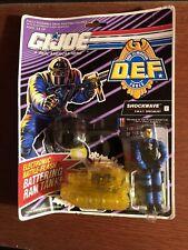 GI Joe D.E.F. Drug Elimination SHOCKWAVE MOC Original Factory Seal