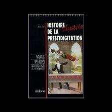 Histoire illustrée de la prestidigitation par Max Dif