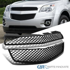 For Chevy 10-15 Equinox Black Mesh Honeycomb ABS Front Hood Upper Bumper Grille