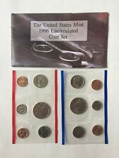 US Mint Uncirculated Sets - Lot of 5 from 1995, 1996, 1997, 1998, and 1999