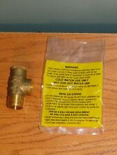 "Brass NO LEAD 3/4"" 100 PSI  PRESSURE RELIEF VALVE WATER WELL TANK PUMP"