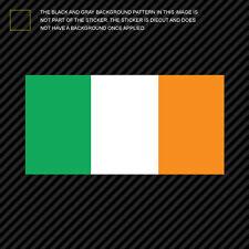 """4"""" Irish Flag Sticker Die Cut Decal Ireland"""