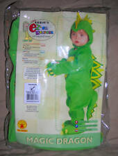 MAGIC DRAGON HALLOWEEN costume or dress up  EZ on rompers Rubies    0-9MO    NEW