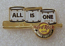 HARD ROCK CAFE YANKEE STADIUM NY ALL IS ONE MLB BASE BALL BAT 2014 HRC PIN BADGE