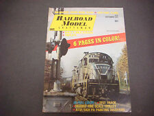 Railroad Model Craftsman Magazine,September 1971,Milwalkee Super Dome Plans,B&O