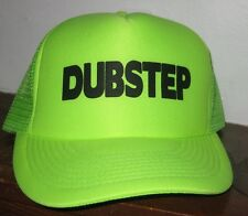 DUBSTEP Trucker Style Baseball Hat Cap Snapback One Size Adults