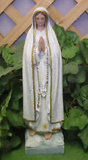 Religious Mary Fatima Pilgrim Latex Fiberglass Production Mold Concrete Plaster