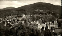 Badenweiler Schwarzwald alte Ansichtskarte 1957 gelaufen Panorama Wald Schloß