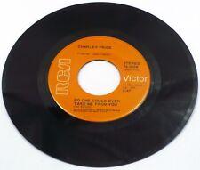 "1971 COUNTRY Charley Pride - Kiss An Angel Good Mornin' 7"" 45"