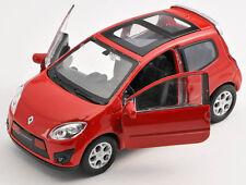 Blitz envío renault twingo gt rojo/red 1:34 Welly modelo auto nuevo con embalaje original