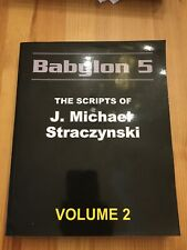 Babylon 5 - The Scripts of J. Michael Straczynski - Volume 2 Mint
