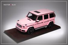 1/18 Motorhelix Mercedes Benz AMG G63 from 2019 in Pink
