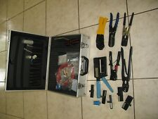 RJ45 RJ11 LAN Network Cable Tester Crimper Hand Tool Set
