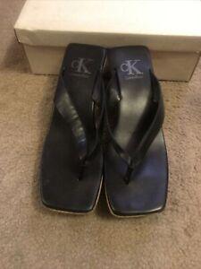 calvin Klein platform sandals size 8.5