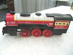 "Dampflokomotive--Spur 0 "" PAYA""  22 cm lang ,läuft  mit Batterie - selten"