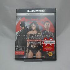 Batman V Superman: Dawn Of Justice (2016, Blu-ray) 4K UHD + BD Edition