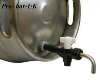 "Cask Ale Keg Tap, Turn Down Spout, Brewery Hop Filter  3/4"" BSP NOT BEER COOLER"