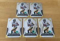 2019 Panini Prizm Base Diontae Johnson RC Rookie Investment Lot Of 5 Steelers