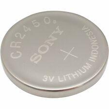 5 Pcs Sony CR2450 2450 Lithium Battery 3v