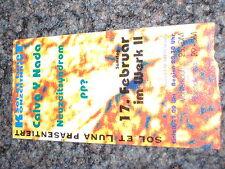 CALVA Y NADA , Live, Konzert, Ticket 17.02.1995, Depeche Mode